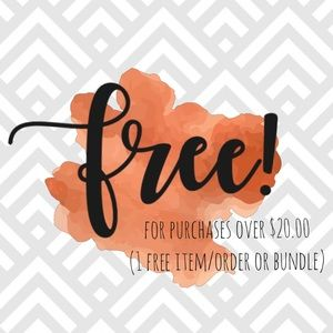 Other - These items below are FREE!
